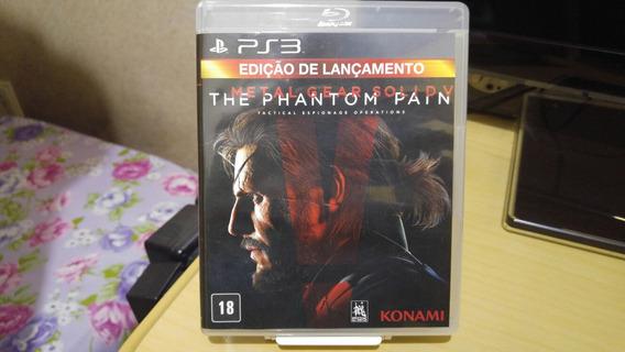 Metal Gear 5 The Phantom Pain Ps3 Usado Legendas Em Portuguê