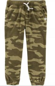 Calça Carters Fleece 3t E 4t Camuflada