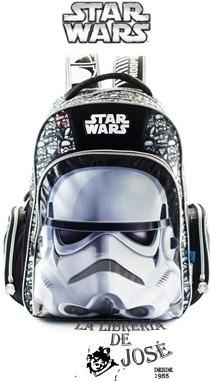 Mochila De Espalda Star Wars Con Licencia Original 18