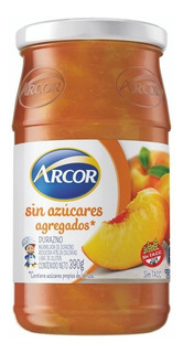 Mermelada Durazno Arcor S/azucar X390g