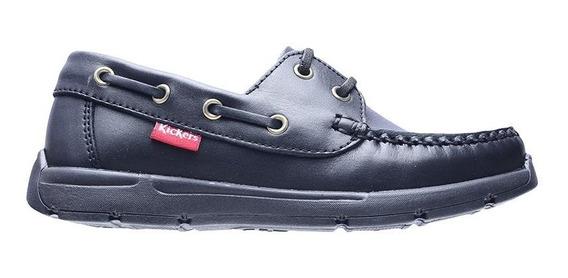 Zapatos Kickers Escolares Colegiales Originales Cordón