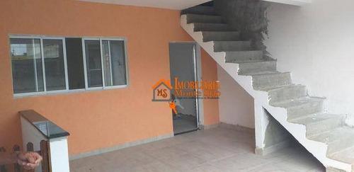 Imagem 1 de 6 de Sobrado À Venda, 200 M² Por R$ 550.000,00 - Jardim Das Andorinhas - Guarulhos/sp - So0653