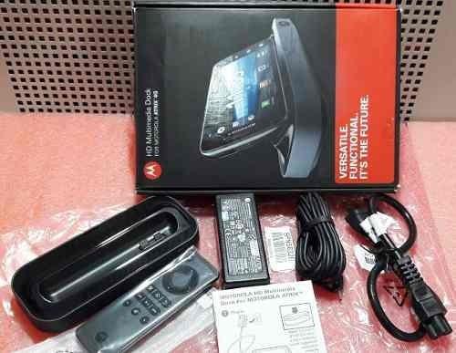 Hd Multimedia Dock Motorola Atrix 4g Hdmi Usb Mini-pc Linux