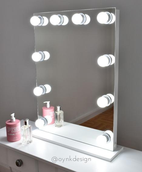 Espejo Hollywood Maquillaje 70x50 + Luces Led + Envío Gratis