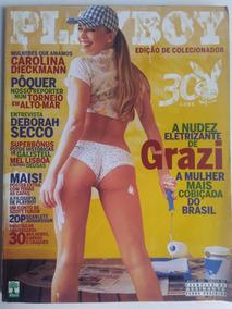 Revista Playboy 361 Ago 2005 Grazielli Massafera 15