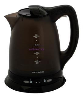Pava eléctrica Winco W70 negra 1.8L