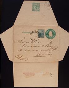 Brasil Argentina 1900 Memorando Postal