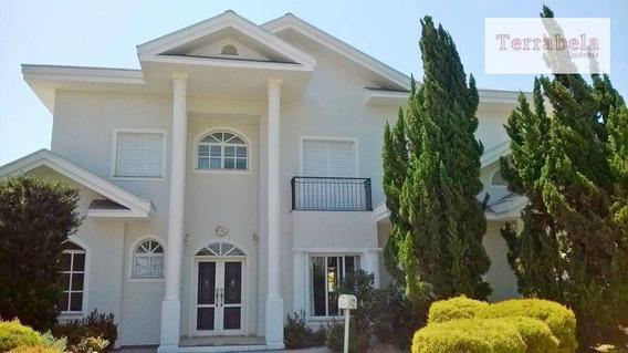 Casa Residencial Para Venda E Locação, Condomínio Vista Alegre - Sede, Vinhedo. - Ca0044