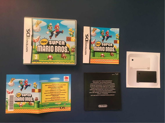 New Super Mario Bros Nintendo Ds Completo Na Caixa Original