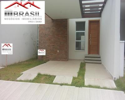 Linda Casa Térrea Nova, Condomínio Montreal, Indaiatuba, Sp - Ca04774 - 32615034