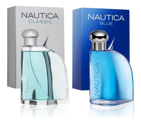Perfume Nautica Blue Y Classic, 100ml, Paga 1 Lleva 2