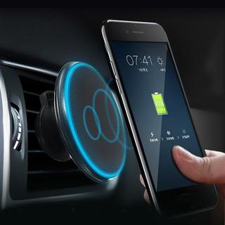 Cargador Inalambrico Qi De Auto Con Soporte Magnético /itech