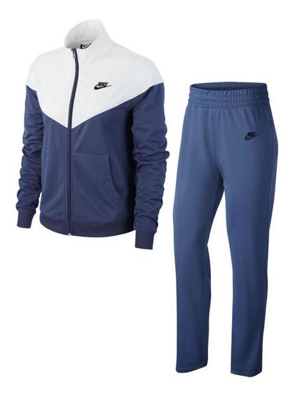 Conjunto Nike Basic Nsw Mujer Morado Bv4958-557