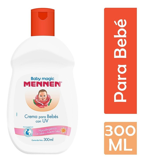 Mennen Baby Magic Crema Protectora Uv, 300 Ml