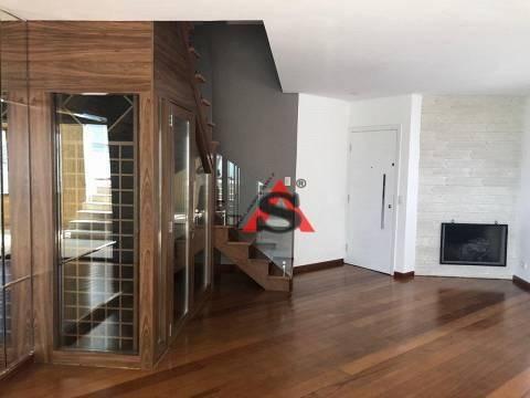 Cobertura Com 3 Dormitórios À Venda, 210 M² Por R$ 2.500.000,00 - Moema - São Paulo/sp - Co1161