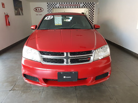 Dodge Avenger 2.4 Sxt X At 2012 Rojo