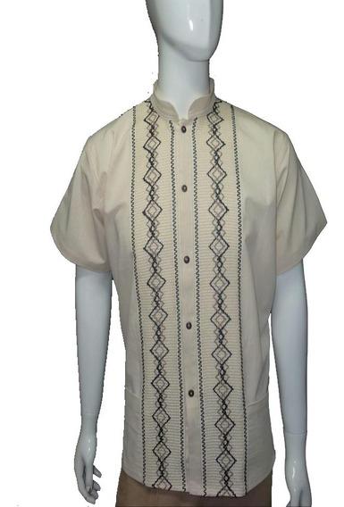 Elegantes Camisas Palenque Para Caballero De Chiapas