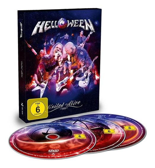 Helloween Dvd United Alive Triplo Pré-venda