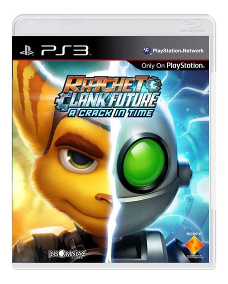 Ratchet Clank Future A Crack In Time - Ps3 - Original
