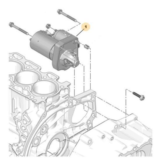Motor De Arranque Peugeot 208 1.6 Thp