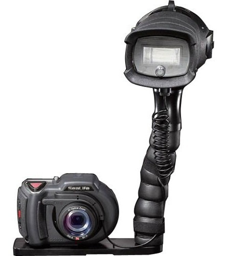 Camara Digital Sumergible Buceo Con Flash Strobe Y Estuche