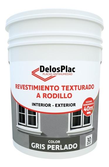 Revestimien Textura Rodil Gris Perlado 30kg (simil Tarquini)