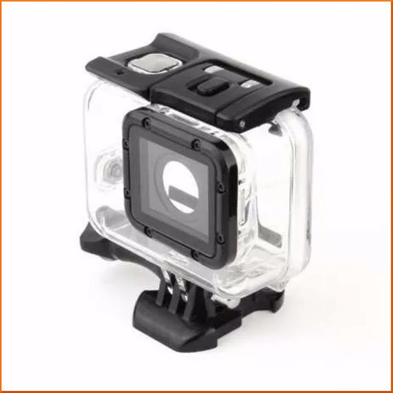 Caixa Estanque Case Gopro Hero 5 Black + Tampa Touch Screen