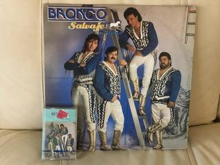 Lp Bronco , Salvaje Y Tierno ( Incluye Kst)