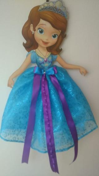 Porta Moños Para Niñas De Princesas...