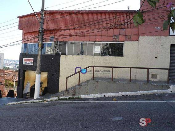 Galpão À Venda, 1350 M² Por R$ 4.260.000 - Freguesia Do Ó - São Paulo/sp - Ga0771