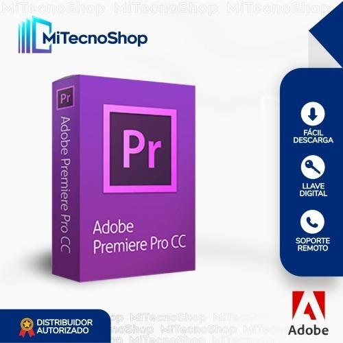 Adob Premiere Pro Cc - Original   Garantía   Permanente