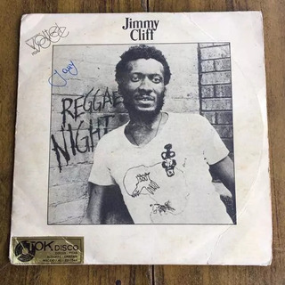Lp Jimmy Cliff Reggae Night 1983 Compacto