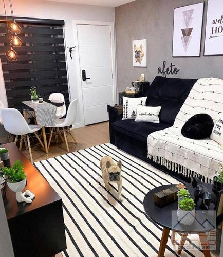 Apartamento Com 2 Dormitórios À Venda, 48 M² Por R$ 250.000 - Nova Petrópolis - São Bernardo Do Campo/sp - Ap0928