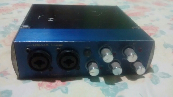 Interface De Áudio Usb Presonus Audiobox 2x2