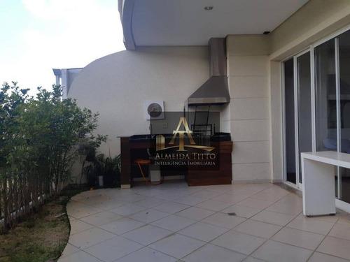 Magnifico Maison Á Venda No Condomínio Jardins Tamboré - Alphaville - Confira ! - Gd0012