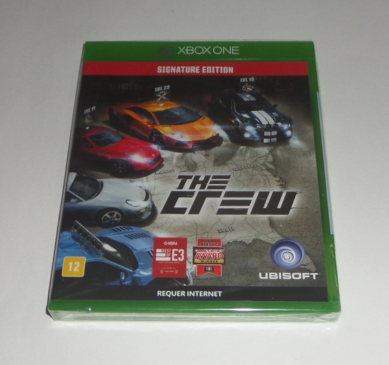The Crew Signature Edition Original Lacrado Física Xbox One