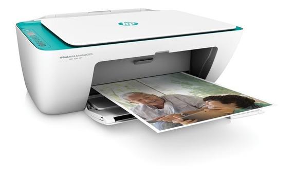 Impressora Hp 2676. Nf + 1 Ano De Garantia. Frete Grátis.