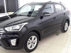Hyundai Creta 1.6 Gl Connect Automática 2017 Negra