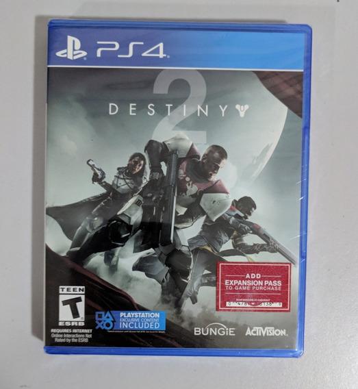 Destiny 2 Ps4 - Mídia Física Versão Americana Lacrado