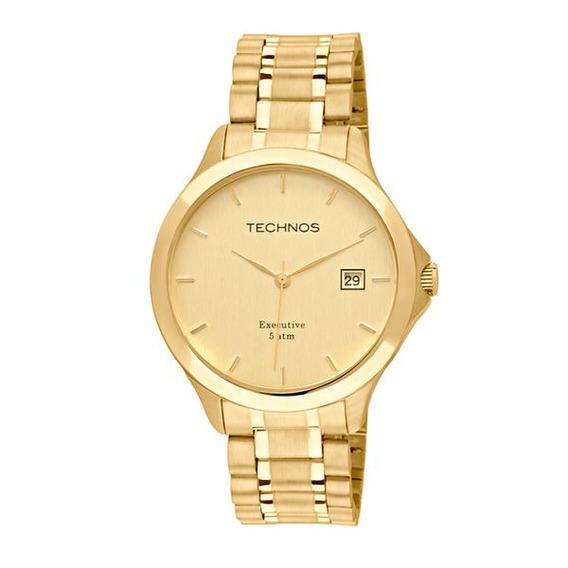 Relógio Technos Masculino 1s13bwtdy/4x Dourado