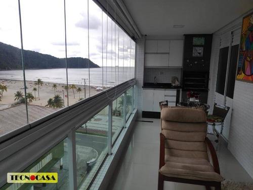 Imagem 1 de 30 de Maravilhoso Apartamento Com 03 Dormitórios Para Venda Com 140 M²  No Bairro Canto Do Forte Em  Praia Grande/sp. - Ap6635