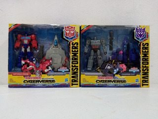 Transformers Cyberverse Optimus Prime/megatron 2 Pack Msi