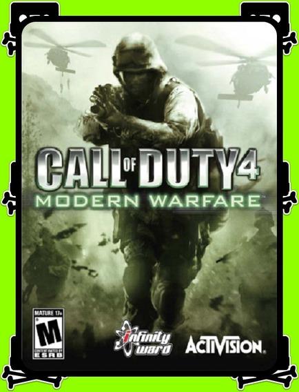 Call Of Duty 4 Modern Warfare Pc - 100% Original (steam Key)