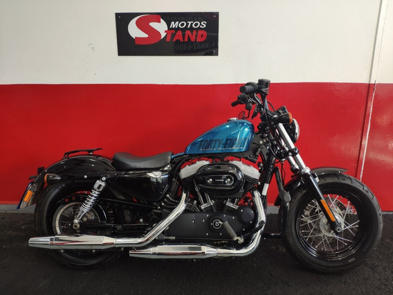 Harley Davidson Sportster Xl 1200 X Forty Eight 2015 Azul
