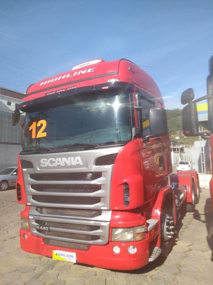 Scania Hig Line 2012 6x4 Vermelho