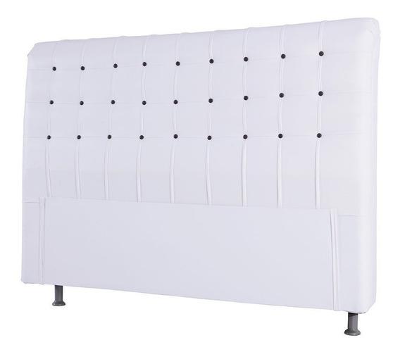 Cabeceira Casal Dama Corino Para Colchão Box 138cm Simbal