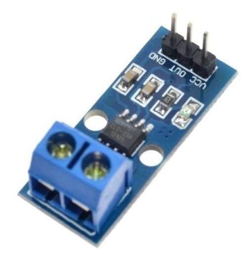 Sensor De Corrente 20a Acs712 Acs712-elctr-20a-t