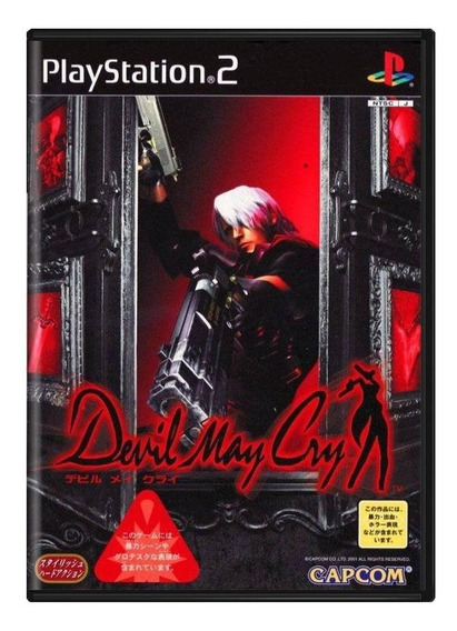 Devil May Cry Ps2 Japonês Mídia Física Pronta Entrega
