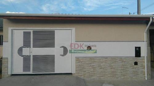 Imagem 1 de 11 de Casa Com 3 Dormitórios À Venda, 107 M² Por R$ 340.000 - Jardim Aeroporto - Guaratinguetá/sp - Ca5683