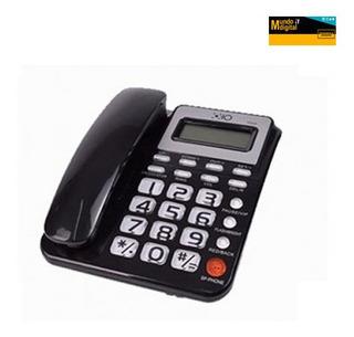 Telefono Fijo De Casa Numeros Grandes Caller Id